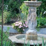 Beautiful Fountain in Center of Tierra's Garden